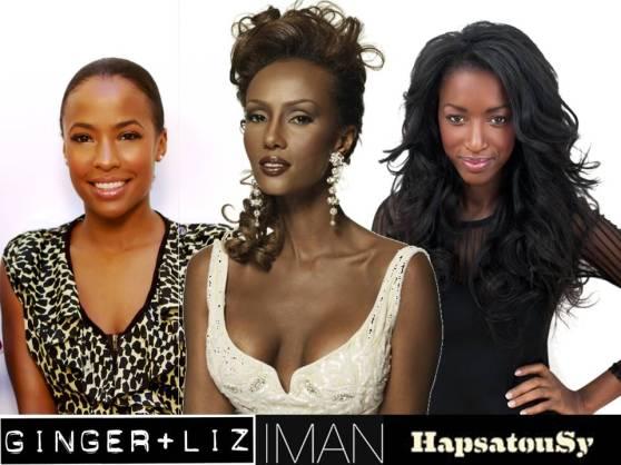Ginger+Liz / Iman Cosmetics / HapsatouSy