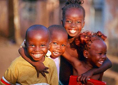 joie de vivre afrique